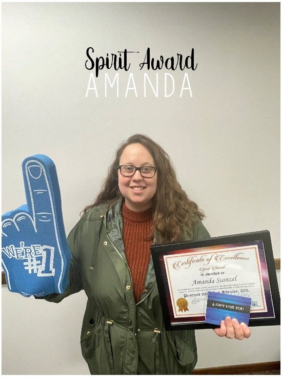 Spirit Award - Amanda Stanzel
