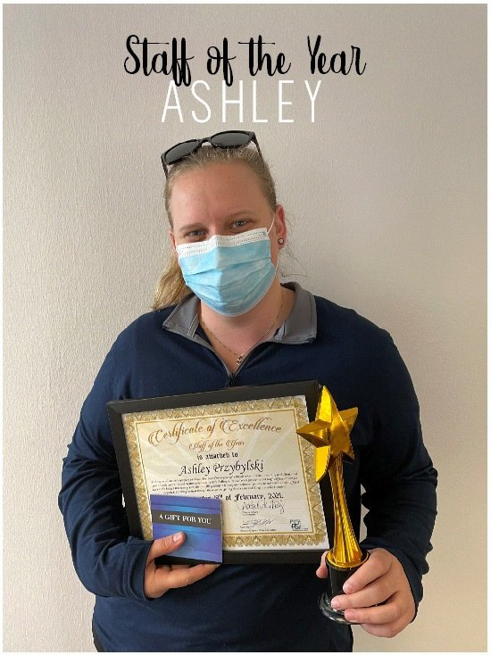 Staff of the Year - Ashley Przybylski